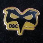 2015/16 Yellow/Black OSC Pin badge £2